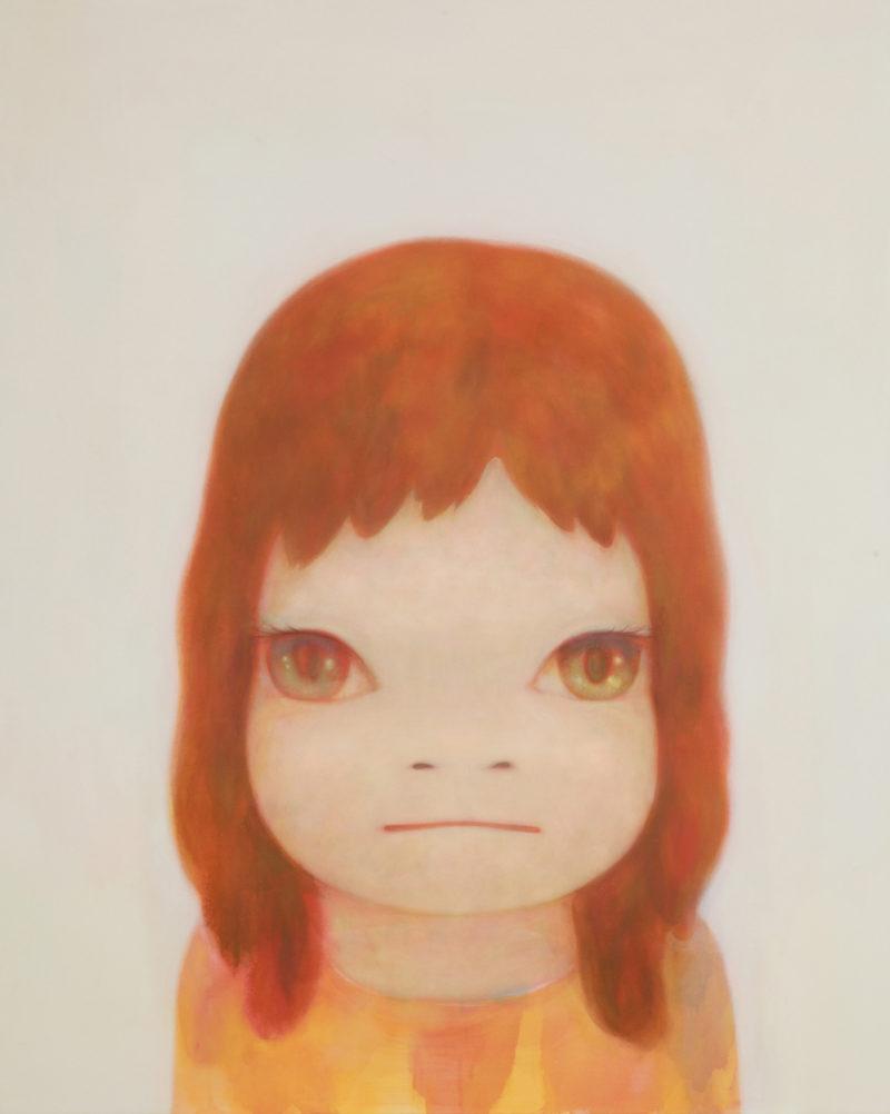 Yoshitomo Nara - White Night, 2006, 162.5×130cm