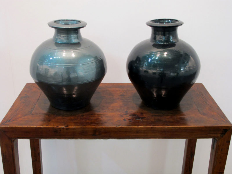 Ai Weiwei - Han Dynasty Vases in Auto Paint, 2013, Han Dynasty vases (202 BC-220 AC) and auto paint