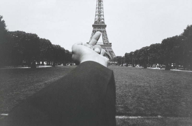 Ai Weiwei - Study of Perspective – Eiffel Tower, 1995-2003, Gelatin silver print, 38.9x59cm