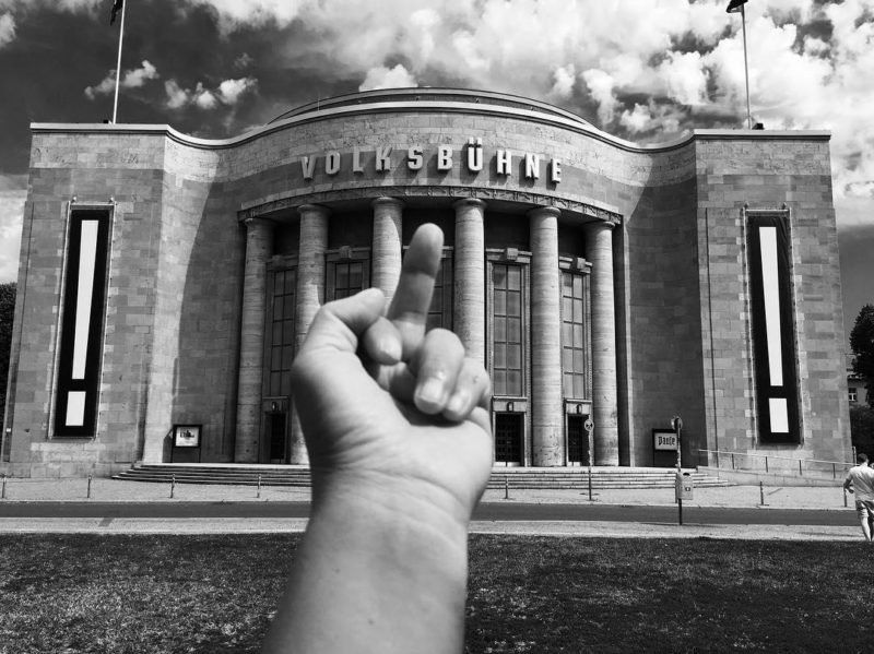 Ai Weiwei - Study of Perspective, Volksbühne, 2016