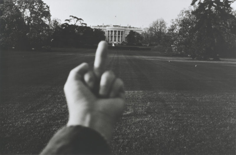 Ai Weiwei - Study of Perspective - White House, 1995 - 2003