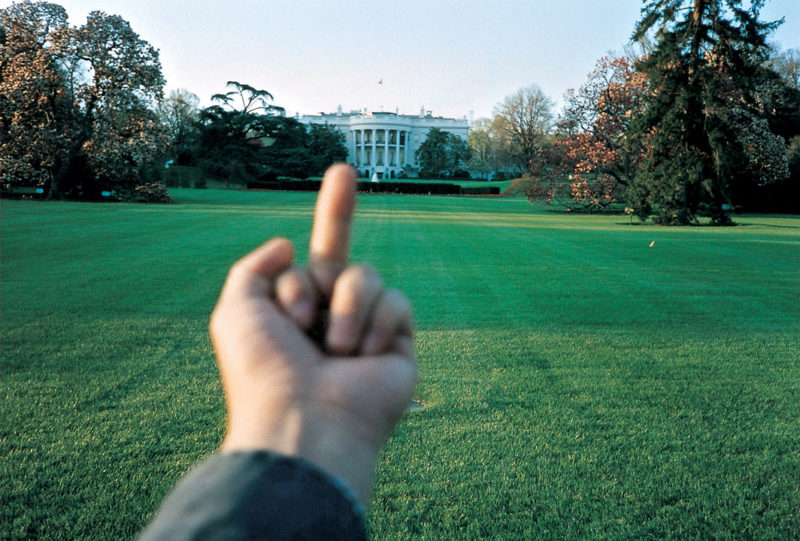 Ai Weiwei - Study of Perspective, White House