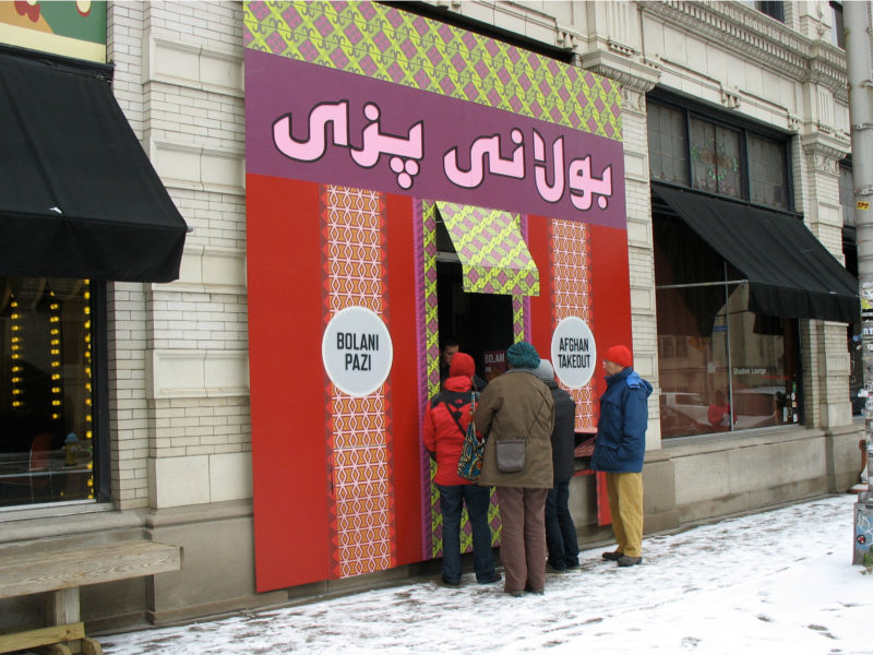 Conflict Kitchen - Afghan Takeout 2
