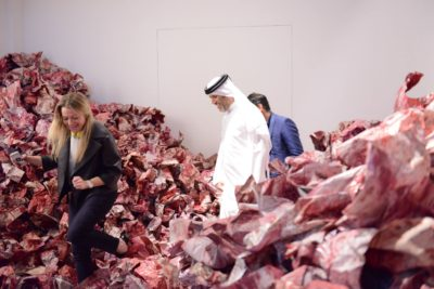 Imran Qureshi – And They Still Seek the Traces of Blood, 2013 - Salsali Private Museum, Dubai, UAE, 2014