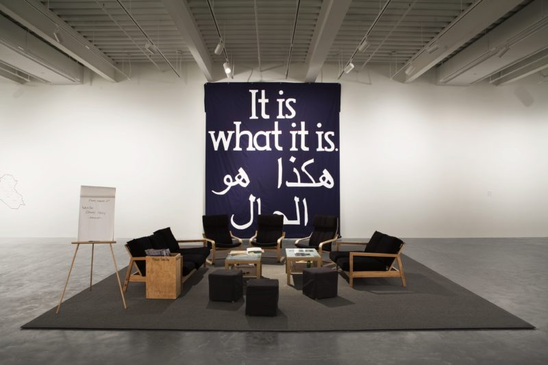 Jeremy Deller – It is what it is- Conversations About Iraq, 2009, New Museum, New York