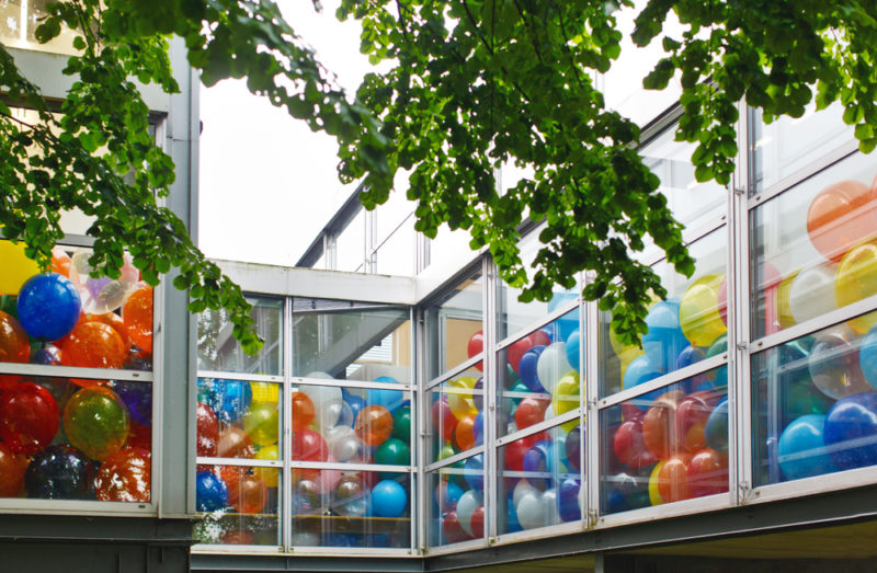 Martin Creed - Work No. 1562. Half the air in a given space, 2015, THEMUSEUM, Kitchener, Canada