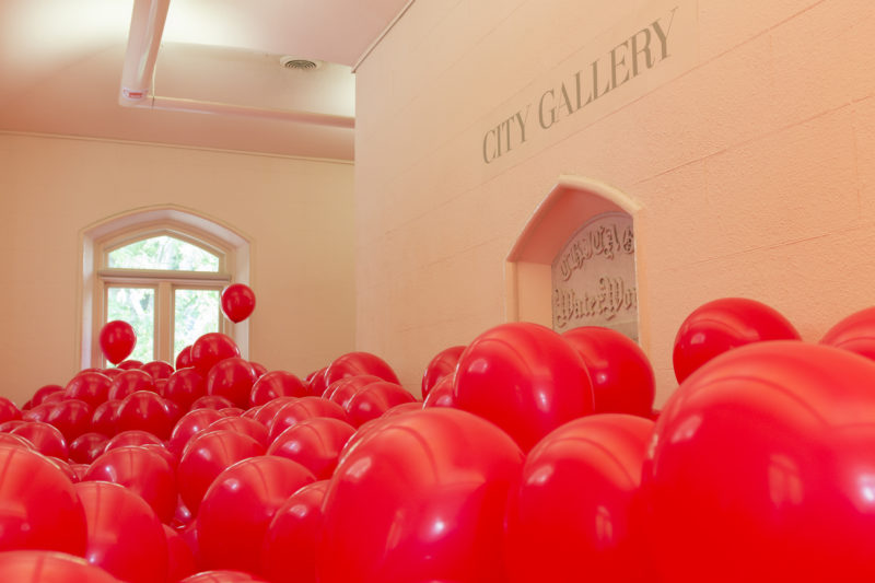 Martin Creed - Work No. 204. Half the air in a given space, 1999, dimensions variable, City Gallery, Historic Water Tower, Chicago, 2012, Photo- Nathan Keay, © MCA Chicago