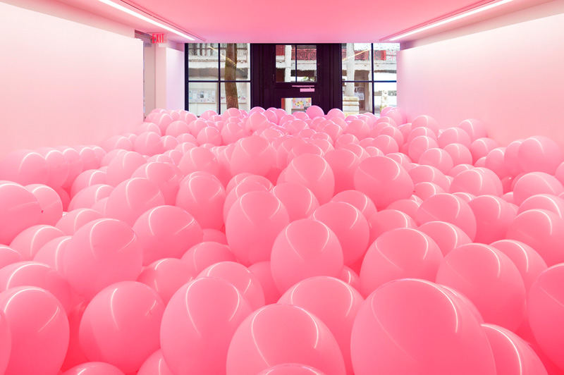 Martin Creed - Work No. 329. Half the air in a given space, 2004. Rennie Collection