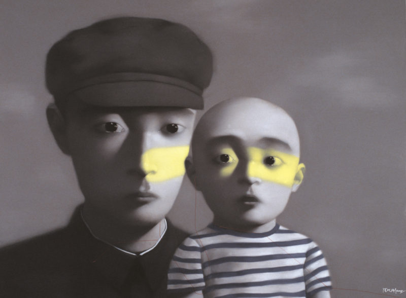 Zhang Xiaogang - Bloodline Series - Father And Son
