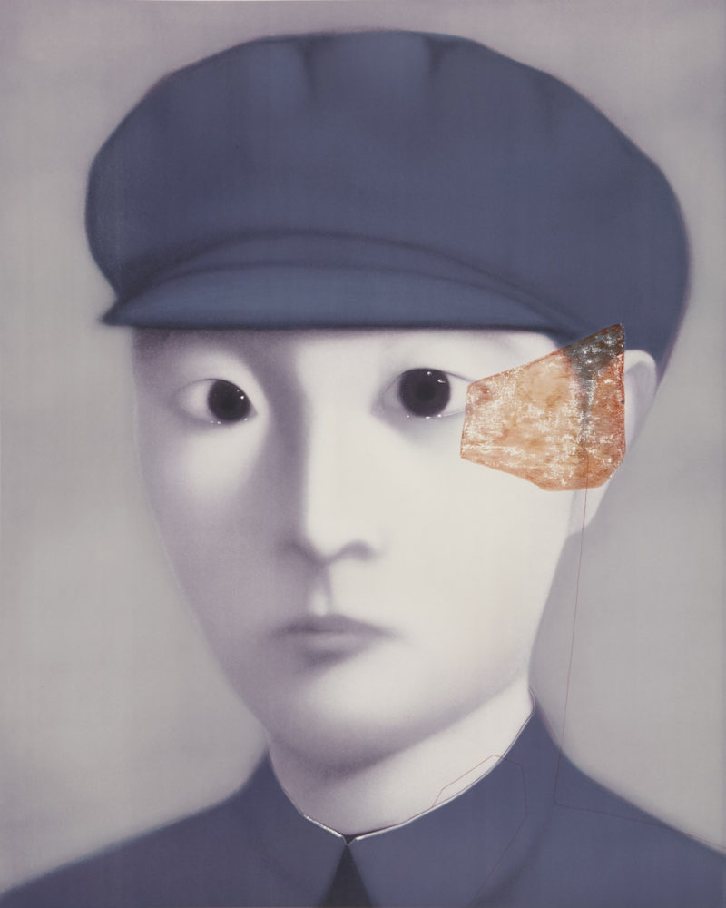 Zhang Xiaogang - Bloodline Series - The Fixed Gaze, 2009, Lithograph, 120x80cm, Edition of 130