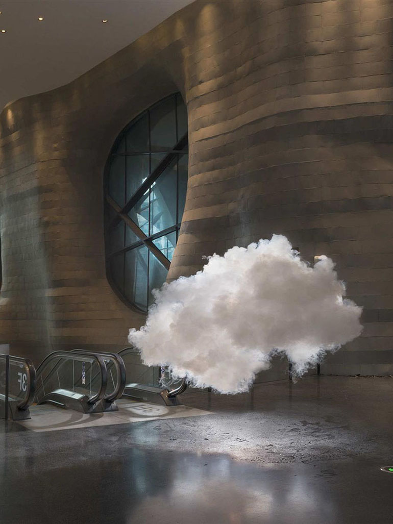 Berndnaut Smilde's Nimbus - What are his clouds all about?