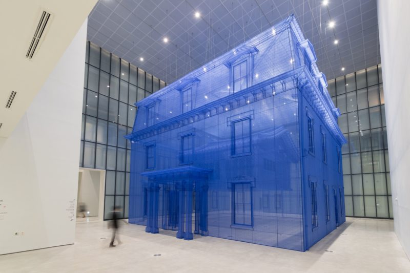 Do Ho Suh - Home Within Home Installation view, Museum of Modern and Contemporary Art, Seoul, South Korea, November 12, 2013 – May 11, 2014
