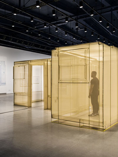 Do Ho Suh recreated entire apartment in museum