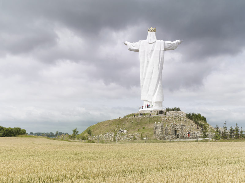 Fabrice Fouillet - Colosses - Christ the King Świebodzin, Poland 36 m (120 ft) Built in 2010