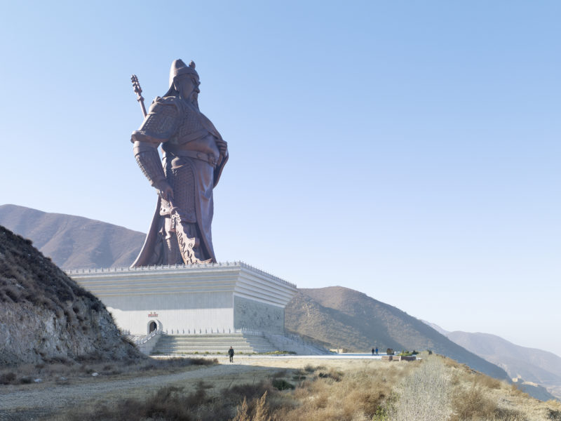 Fabrice Fouillet - Colosses - Guan Yu Statue Yuncheng, China 80 meters (262 ft) Built in 2010