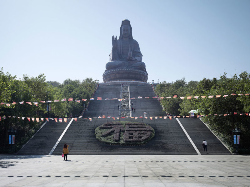 Fabrice Fouillet - Colosses - Guanyin Foshan, China 62 m (203 ft) Built in 1998