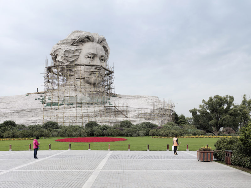 Fabrice Fouillet - Colosses - Mao Zedong Changsha, China, 32 m (105 ft), Built in 2009