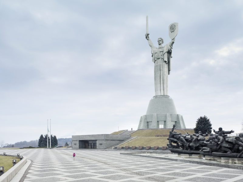 Fabrice Fouillet - Colosses - Mother of the Fatherland. Kiev, Ukraine, 62 m (203 ft). Built in 1981