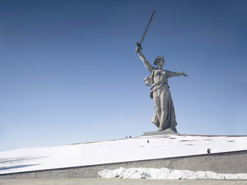 Fabrice Fouillet - Colosses - The Motherland Call. Volgograd, Russia 87 m (285 ft) Built in 1967
