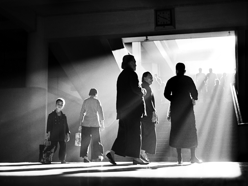 Fan Ho - Afternoon Chat, 1959