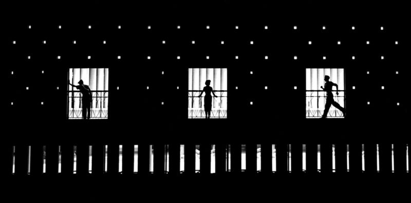 Fan Ho - On the Stage of Life, 1954