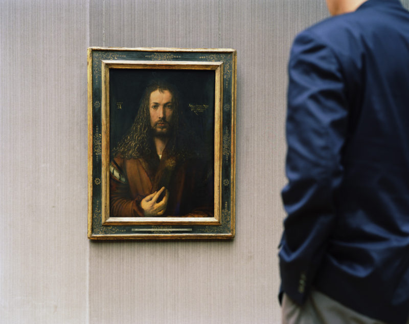 Thomas Struth - Alte Pinakothek, Self Portrait, Munich, 2000