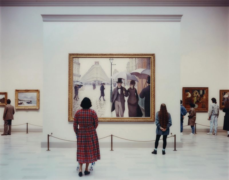 Thomas Struth - Art Institute of Chicago II, Chicago 1990