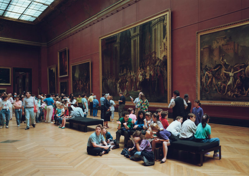 Thomas Struth - Louvre 1, Paris, 1989