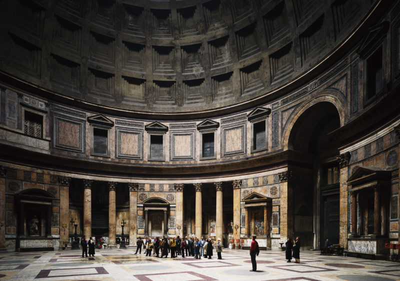 Thomas Struth - Pantheon, Rome, 1990