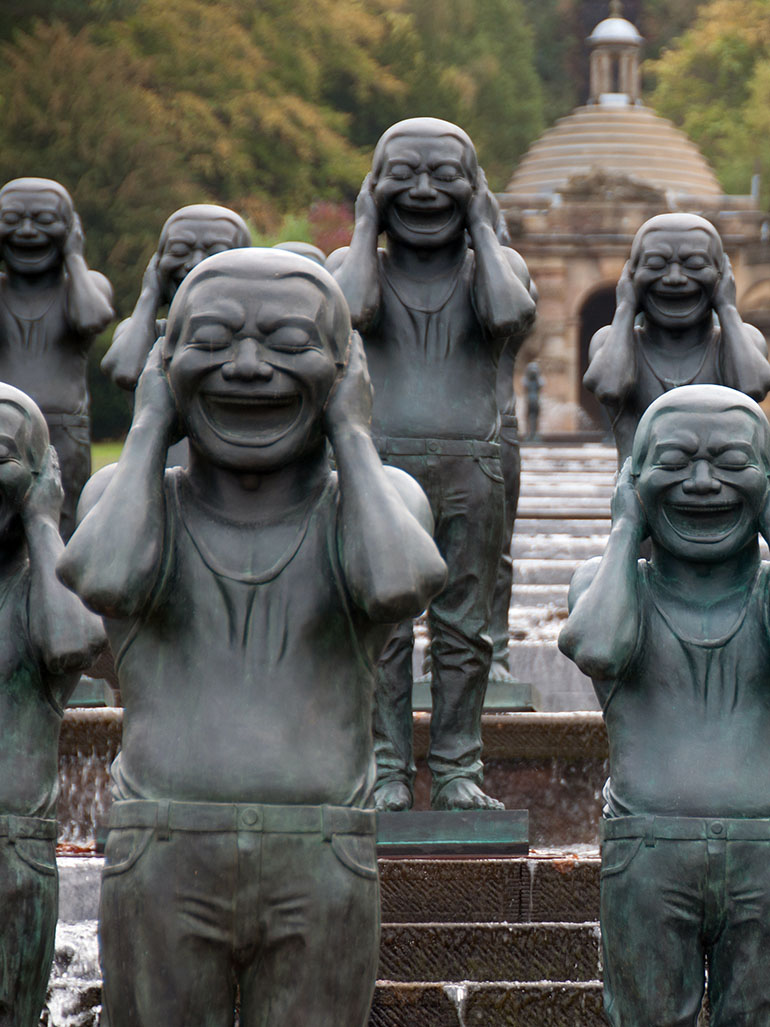 Yue Minjun & The infectious power of laughter