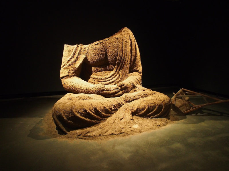 Zhang Huan - Berlin Buddha - Museum of Old and New Art, 2014 3