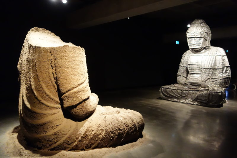 Zhang Huan - Berlin Buddha - Museum of Old and New Art, 2014