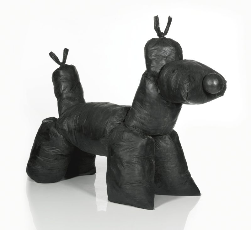Gimhongsok - Canine Construction, 2009, bronze