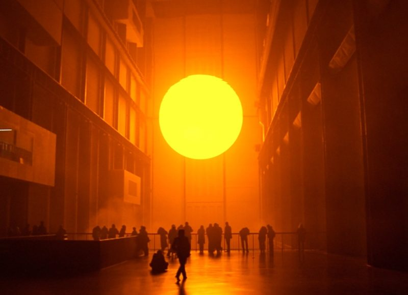 Olafur Eliasson – The Weather Project, 2003