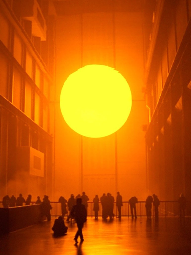 Olafur Eliasson's Weather Project - Why did he try to recreate the sun?