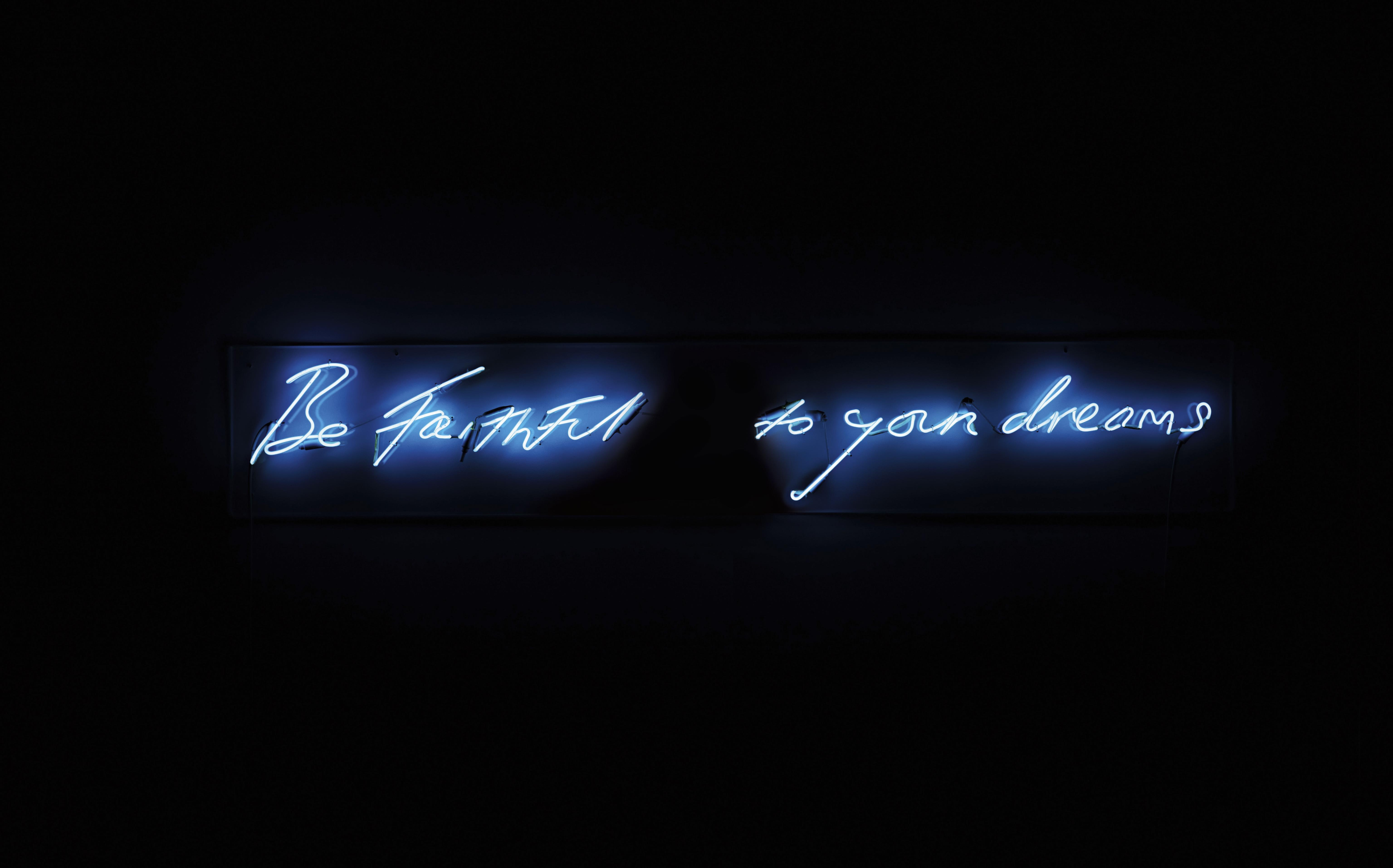 the obscenity and heartache in tracy emin s neon signs