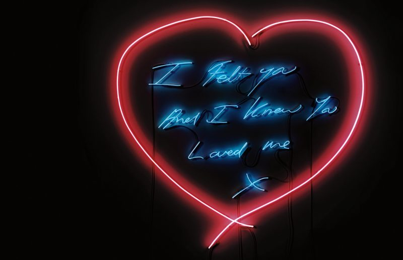 Tracey Emin - For You, 2008, neon, 186 x 174 cm