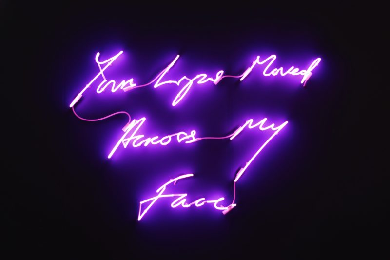 Tracey Emin - Your Lips Moved Across My Face, 2015