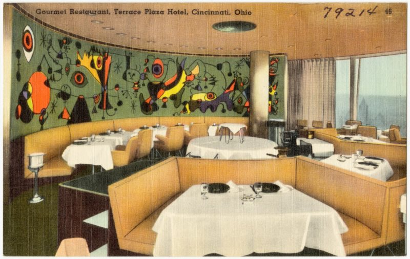 Joan Miró - Mural for the Terrace Plaza Hotel, Cincinnati, 1947, oil on canvas, 259.1 x 935.4 cm (102 x 368 1:4 in.)