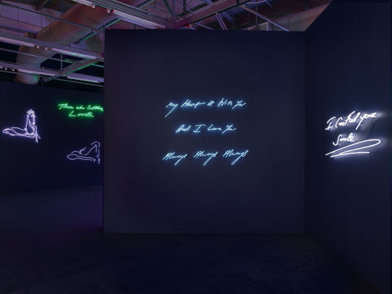 Tracey Emin at Museum of Contemporary Art North Miami, 2014