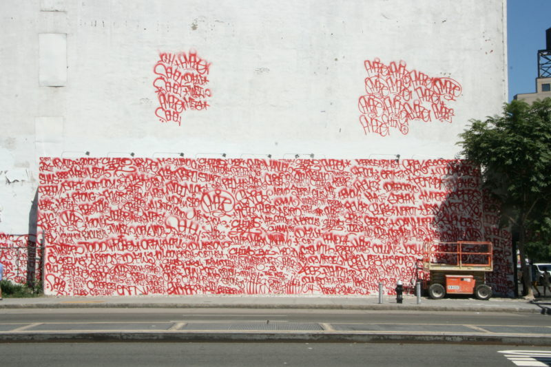 Barry McGee – Mural on Houston and Bowery, New York, 2010