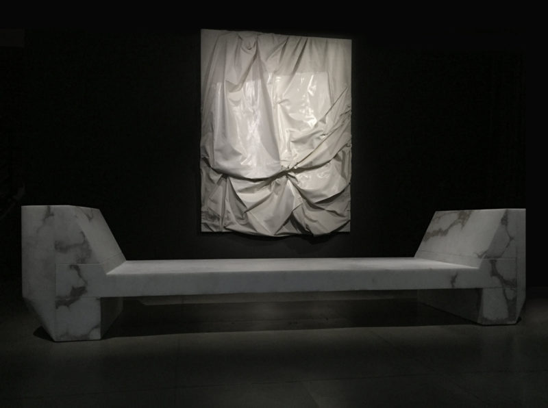 Installation view of Rick Owens- Furniture, December 17, 2016–April 2, 2017 at MOCA Pacific Design Center, courtesy of The Museum of Contemporary Art, Los Angeles