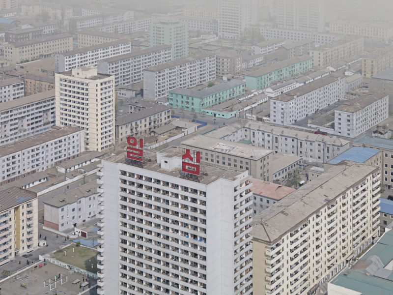 North Korea - Setting the Stage - Pyongyang - View Juche Tower