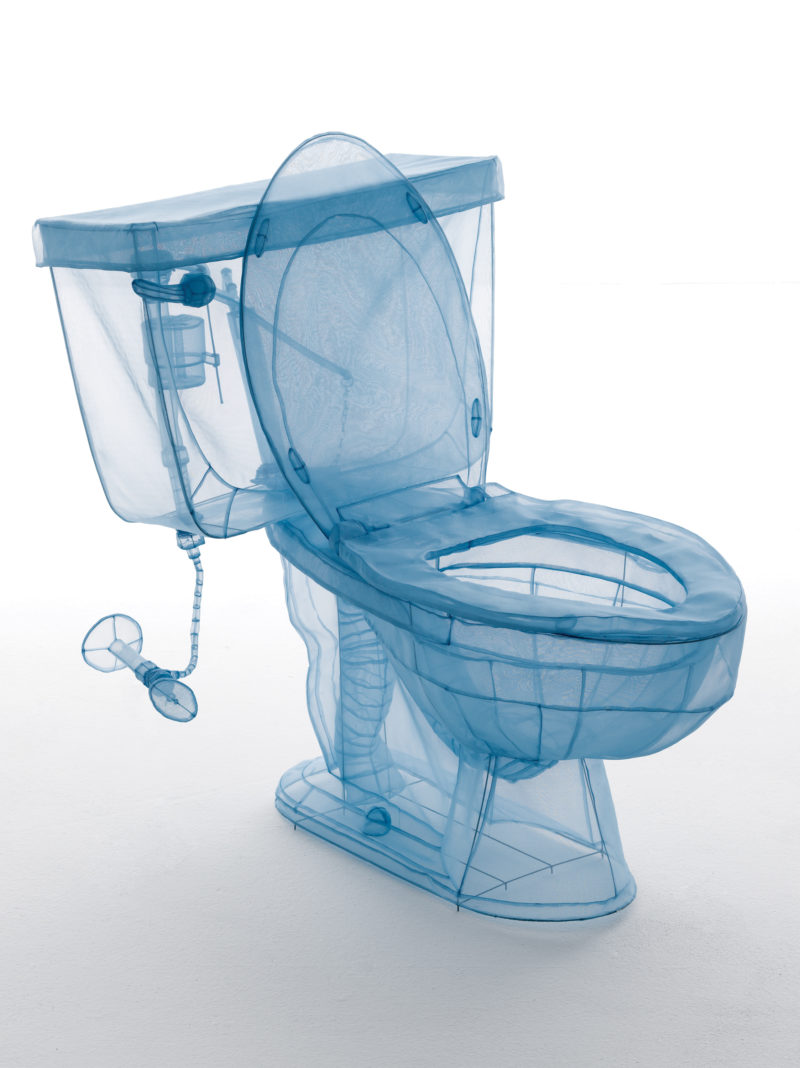 Do Ho Suh - Toilet, 2013, polyester fabric