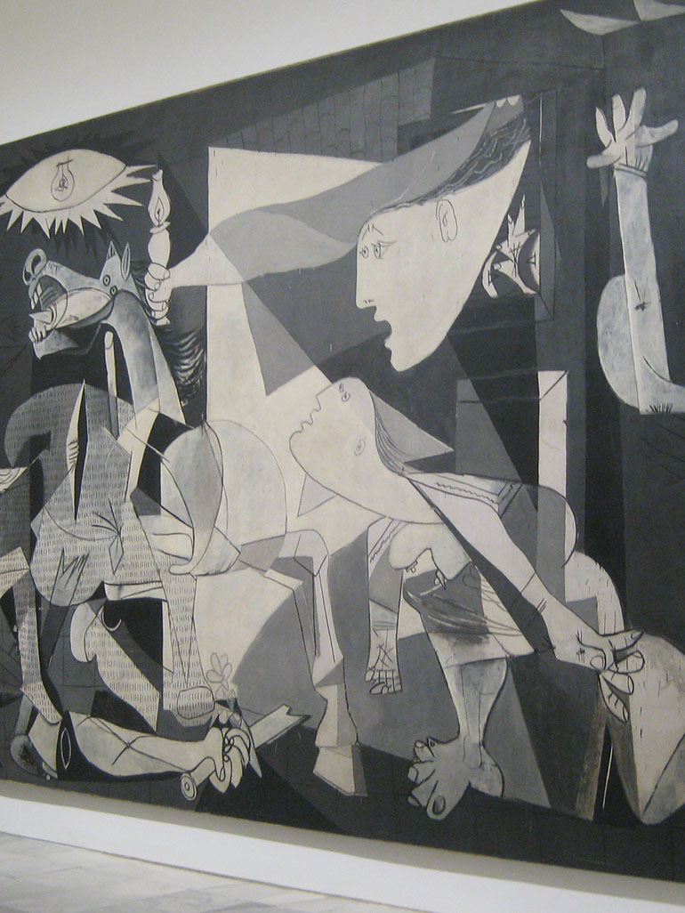 Pablo Picasso's most famous painting - The daring Guernica
