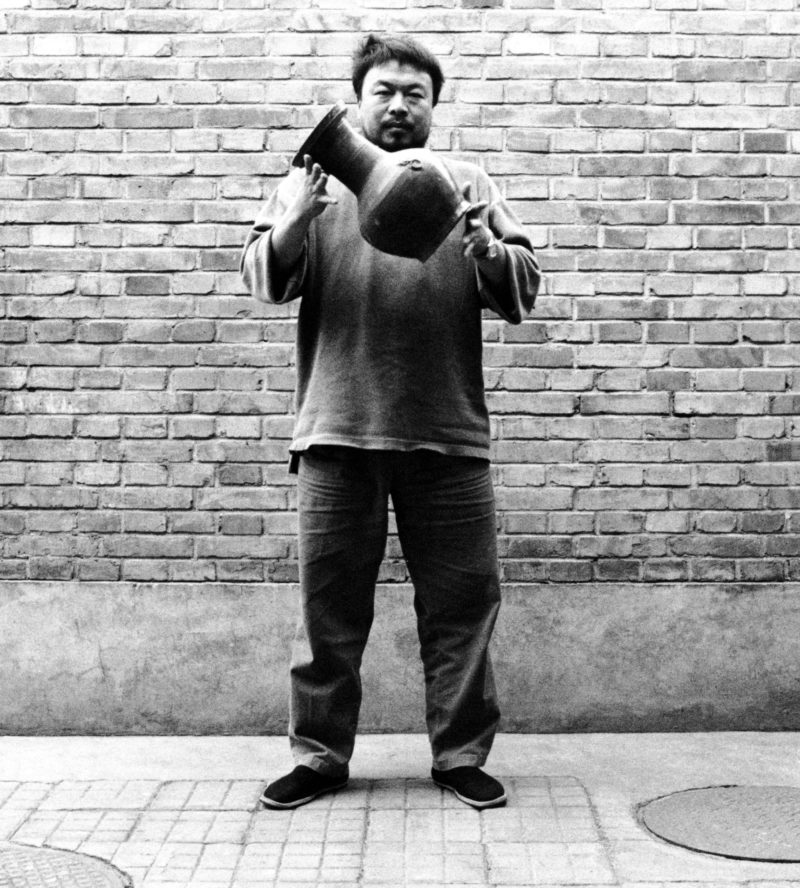 Ai Weiwei - Dropping a Han Dynasty Urn, 1995, First panel of the triptych