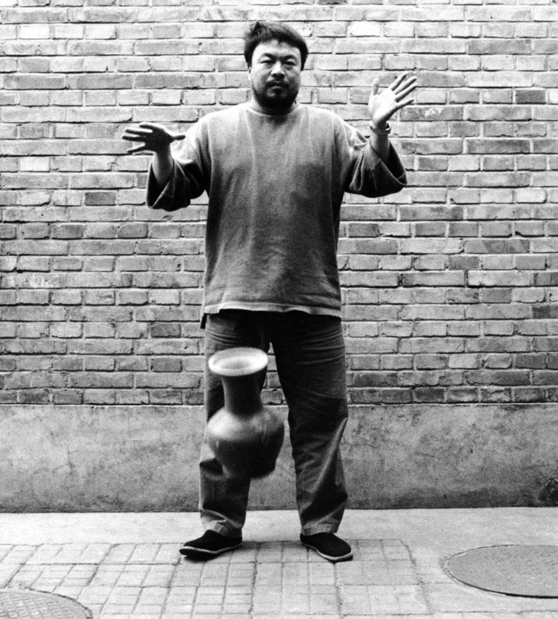 Ai Weiwei - Dropping a Han Dynasty Urn, 1995, Second panel of the triptych