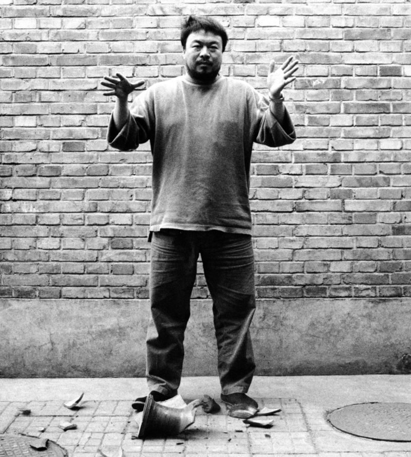 Ai Weiwei - Dropping a Han Dynasty Urn, 1995, Third panel of the triptych