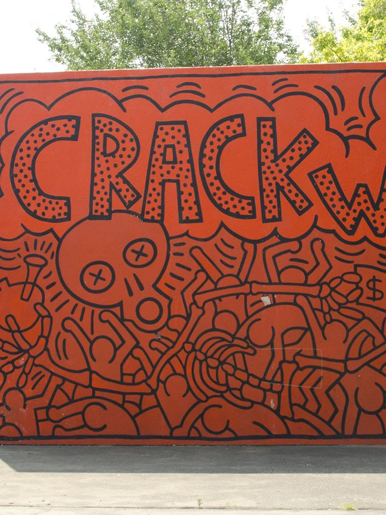 Keith Haring's Crack is Wack - From illegal to protected