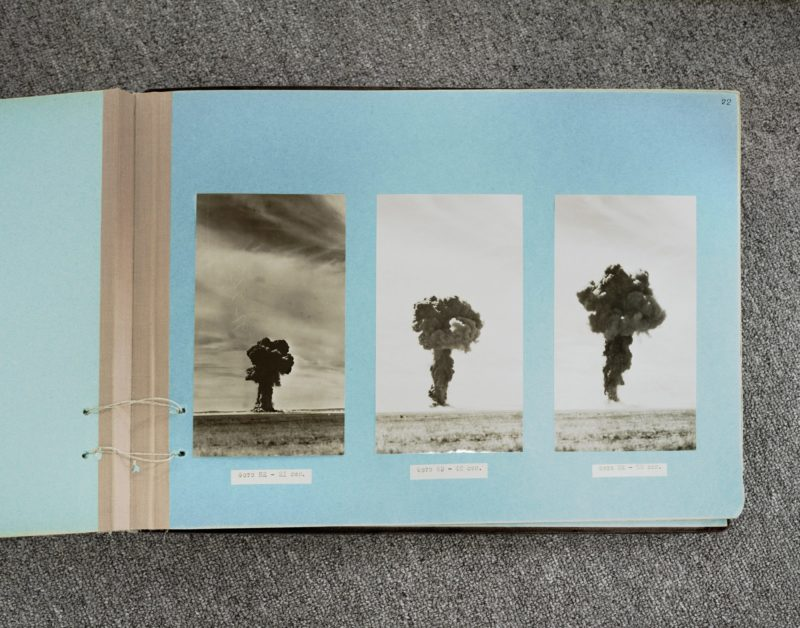 Nadav Kander - Album of Nuclear Explosions 1955 page 1, Kazakhstan, 2011
